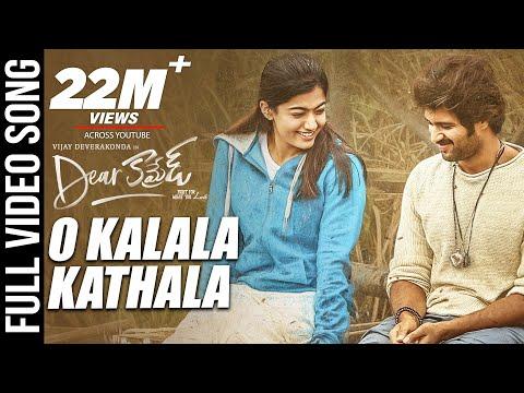 o-kalala-kathala-video-song---dear-comrade-telugu-|-vijay-deverakonda-|-rashmika-|-bharat-kamma