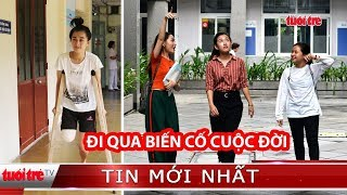 Nữ sinh bị cưa chân sau TNGT ở Đắk Lắk: Đi qua biến cố cuộc đời