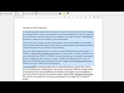 Colocando Formatação No Texto ABNT No Libre Office Writer  (.odt)