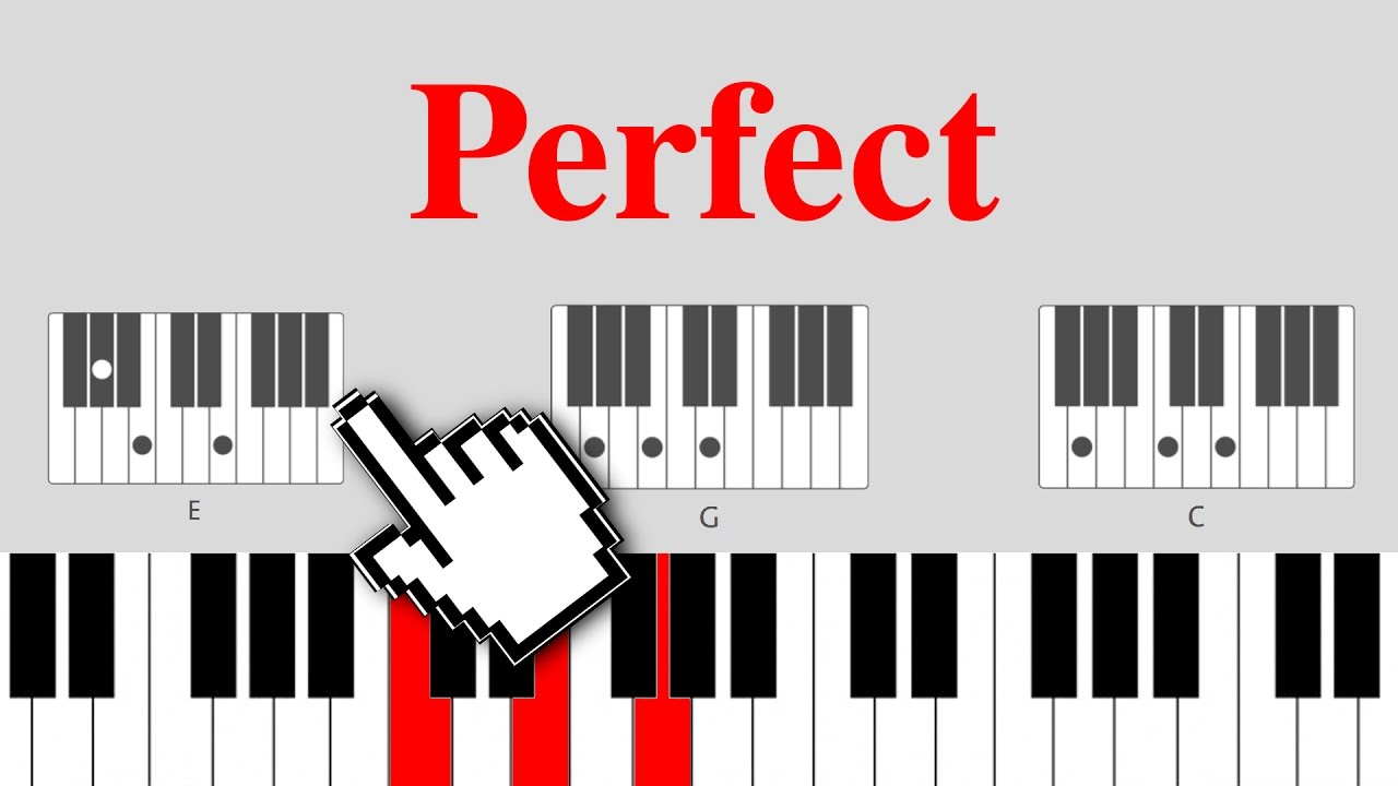 Perfect ed sheeran on piano easy chords youtube perfect ed sheeran on piano easy chords hexwebz Image collections