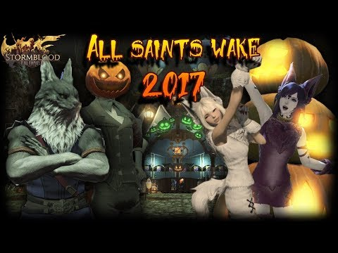 FFXIV: All Saint's Wake Seasonal Dungeon & Wolf Outfit!