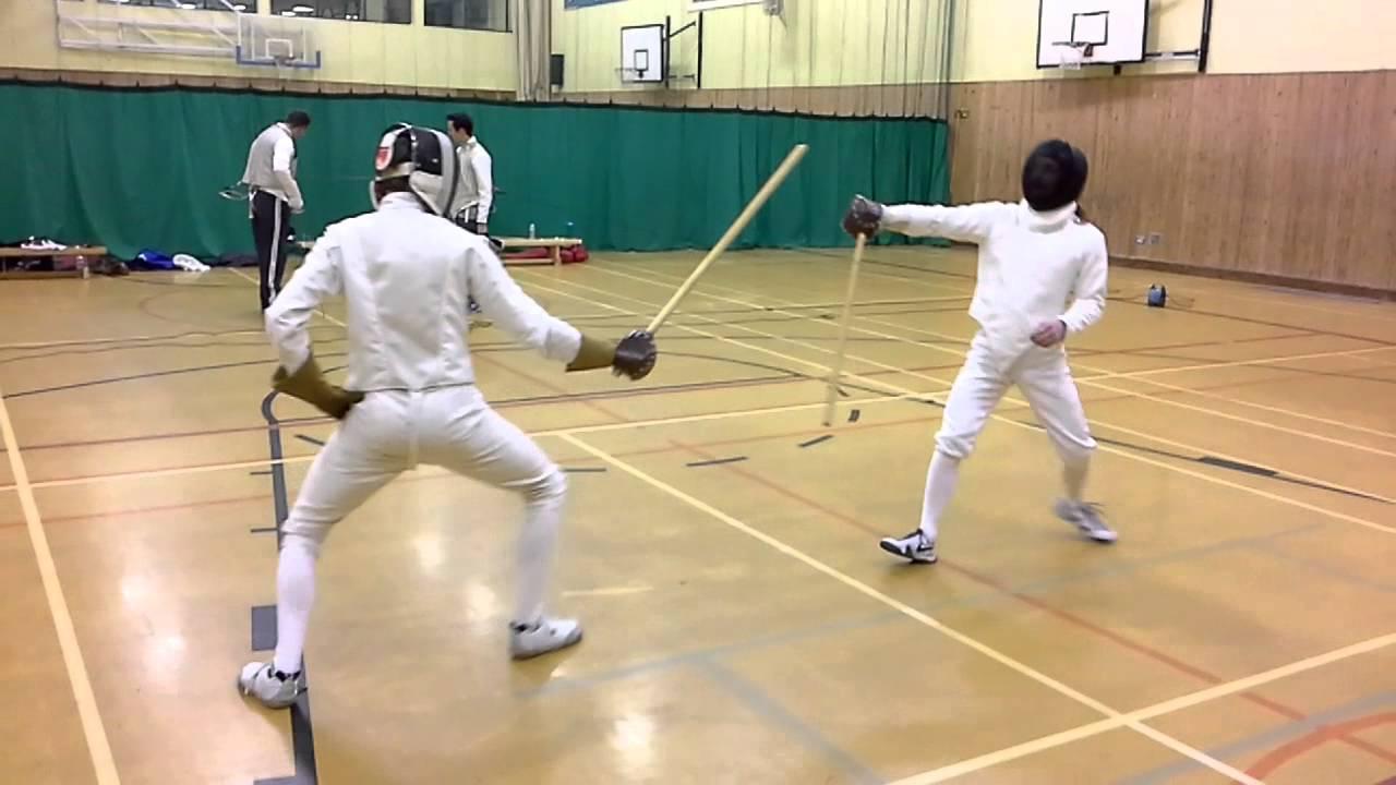 singlestick fencing youtube