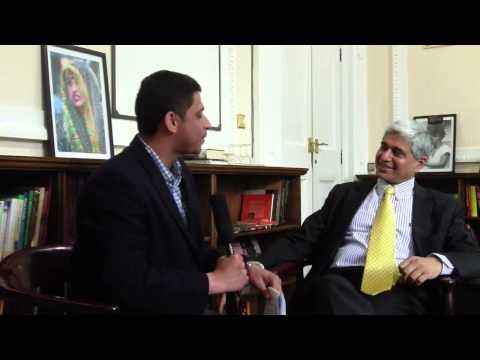 Vikas Swarup: Author of Q&A - the book that later became Slumdog Millionaire