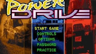Power Drive gameplay (PC Game, 1994)