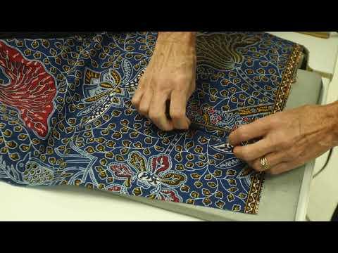 Sewing Lesson: Placket Underlap (3/4)