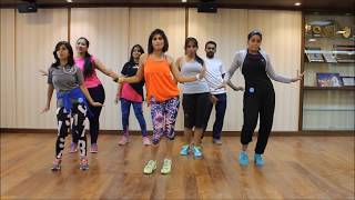 "Zumba Routine ""I need Your Love , Shaggy Feat Mohombi , Faydee and Costi By Vijaya"