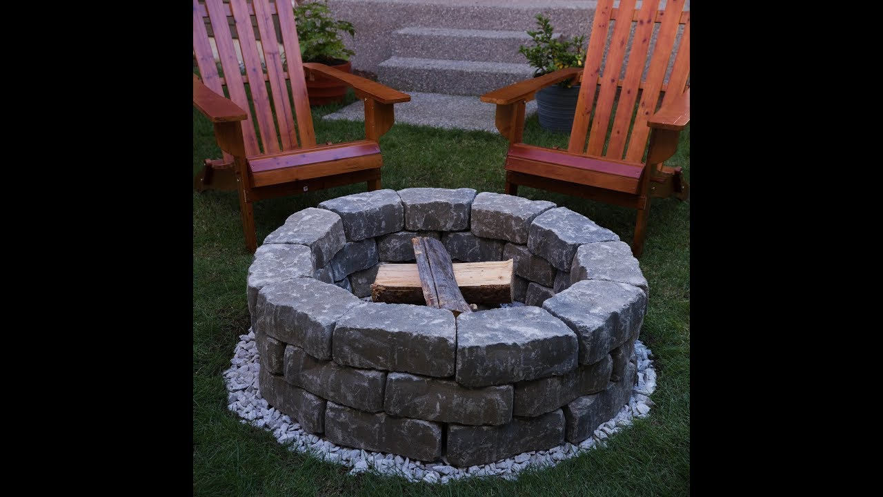 Zillow #Homemade Hack: How to Build a Backyard Fire Pit ...