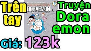 Trên tay truyện tranh Doraemon dày đọc mỏi mắt không hết