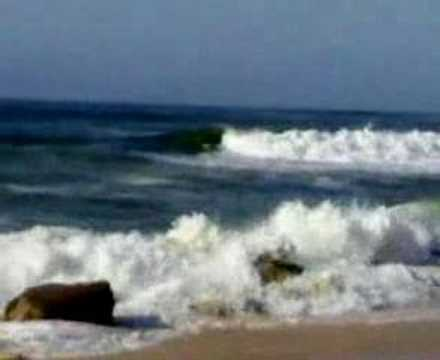 Surf at Monica beach Mohammedia