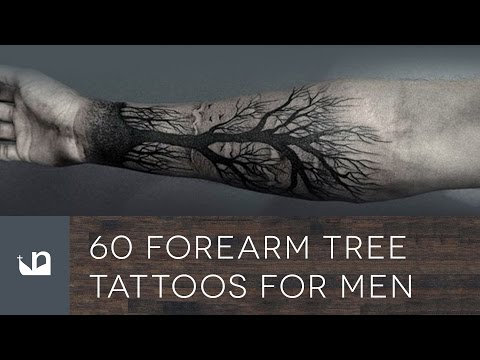 60 Forearm Tree Tattoos For Men