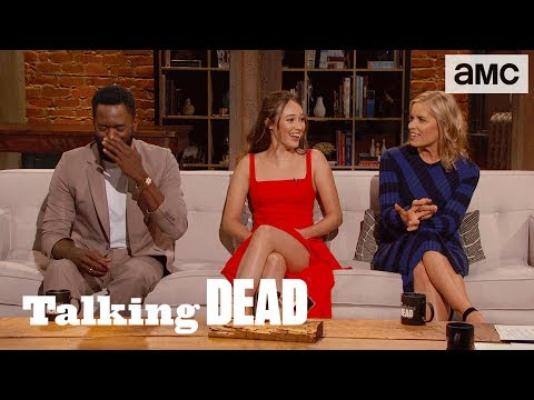 'Unhinged Madison or Optimistic Madison?' MidSeason 4 Finale  Questions  Talking Dead