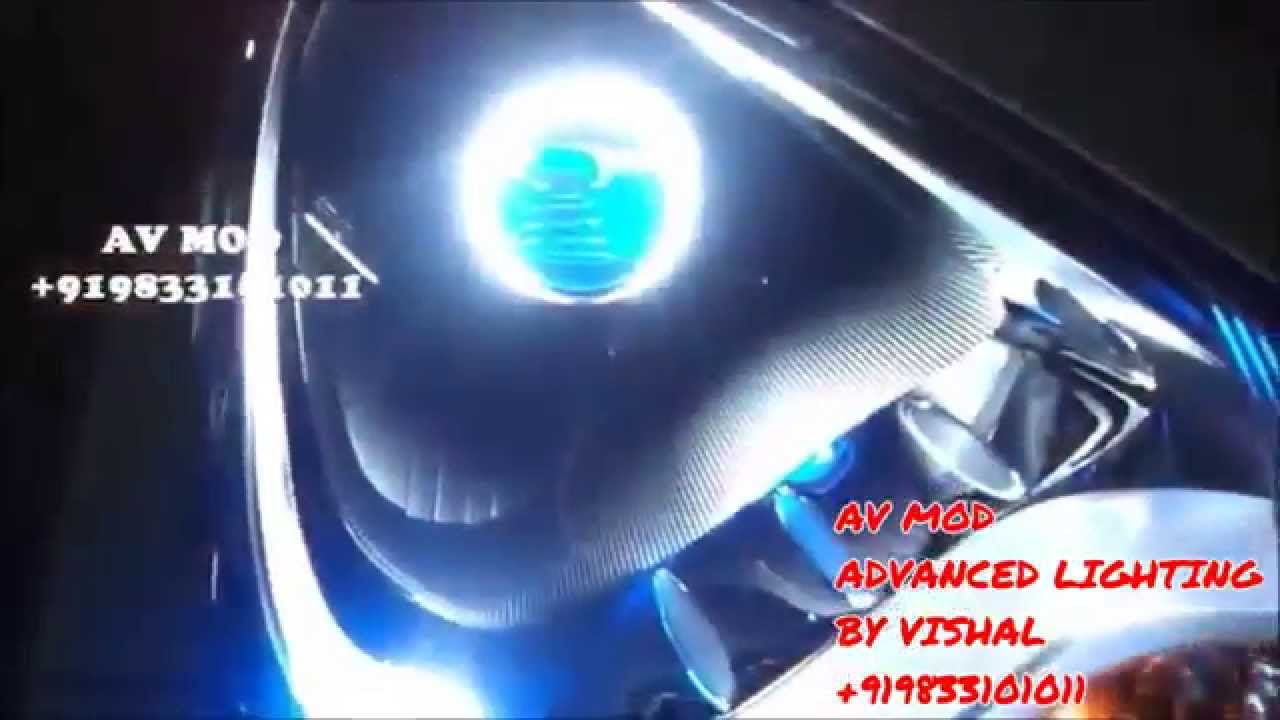 & Hyundai Eon Projector headlight By Vishal - YouTube azcodes.com