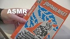 Japanilainen ristikko | Suomi ASMR | Kuiskaus | Väritys