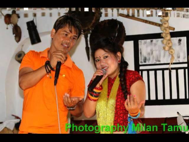 Bhandeu ke garam panche baja Sangita Thapa Magar and Mansudhan thapa