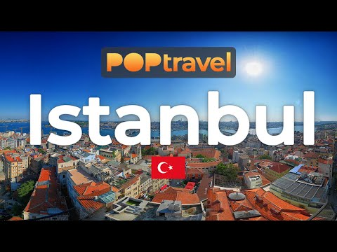 Walking in ISTANBUL / Turkey 🇹🇷- Galata Tower, Taksim, Dolmabahçe - 4K 60fps (UHD)