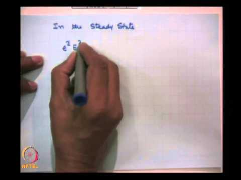 Mod-01 Lec-03 DC Conductivity and Negative Differential Conductivity