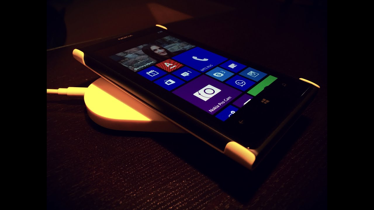 Nokia Wireless Charging Cover Lumia 1020 и Wireless Charger Youtube