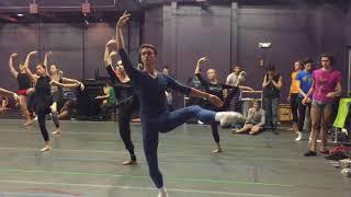 Mariinsky Ballet ... Class with Igor Petrov at SCFTA* JMT* October 11, 2017; Directed by Gina ARDANI
