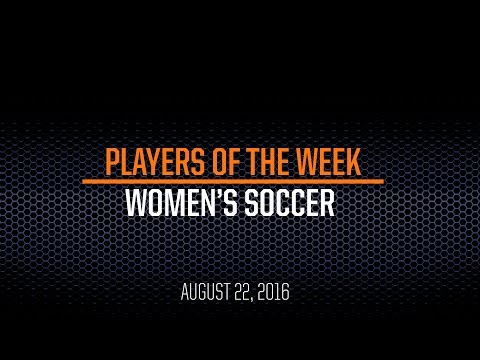 Players of the Week - Women's Soccer