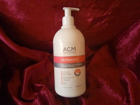 ACM - DEPIWHITE    حليب فعّال في توحيد لون الجسم