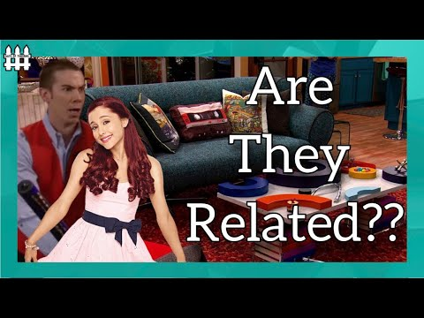 Are Crazy Steve (Drake and Josh) and Cat (Victorious) Related