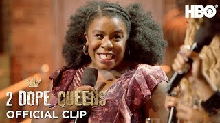 Nerding Out w/ Uzo Aduba | 2 Dope Queens | HBO