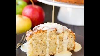 Яблочный пирог с заварным кремом соусом Ирландский