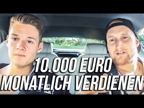 10.000 Euro im Monat ONLINE verdienen wie Inscope21 mit meiner Hilfe!