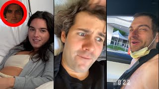 David Dobrik Meets John B    David Dobrik Takes Ilya To Hospital - Vlog Squad IG Stories 38
