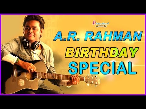 AR Rahman Tamil Movie Songs | Birthday Special Jukebox | Alaipayuthe | Minsara Kanavu | Jeans