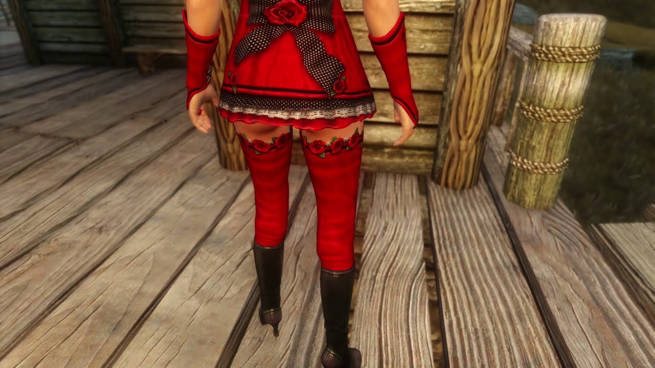 Sexy little red riding hood costume-6669