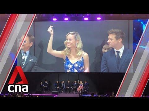 Avengers: Endgame Stars Electrify Fans In Seoul | CNA Lifestyle