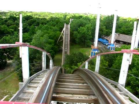 Frontier City - Wildcat wooden roller coaster