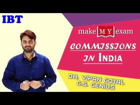 Commissions in INDIA By Dr Vipan Goyal