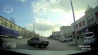 28.04.2018 ДТП Ачинск. ул. Кравченко. Момент аварии