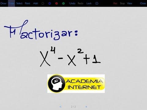 Factorizar x^4 - x^2 + 1