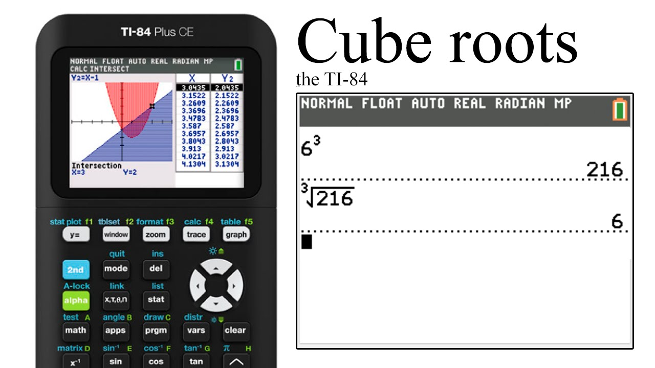 Solved: how to find the cube root using ti-30xiis fixya.