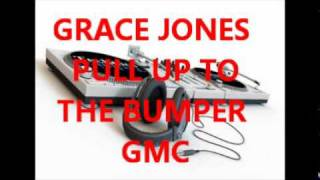 GRACE JONES - PULL UP TO THE BUMPER (12 inch )