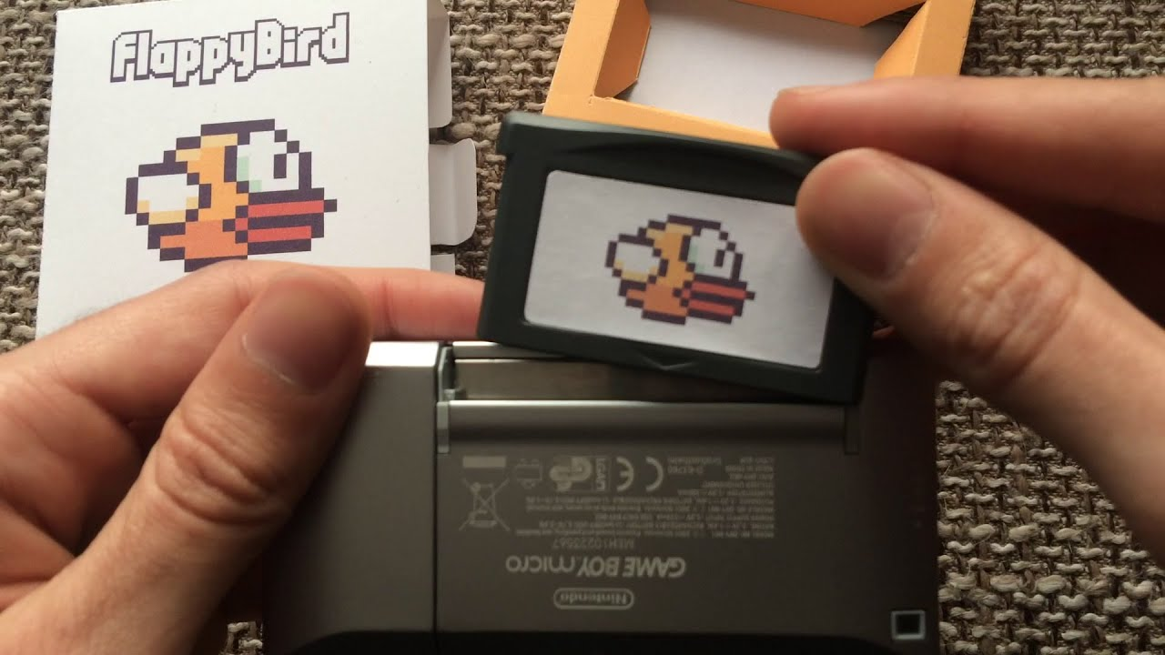flappy bird for game boy advance    sp    micro