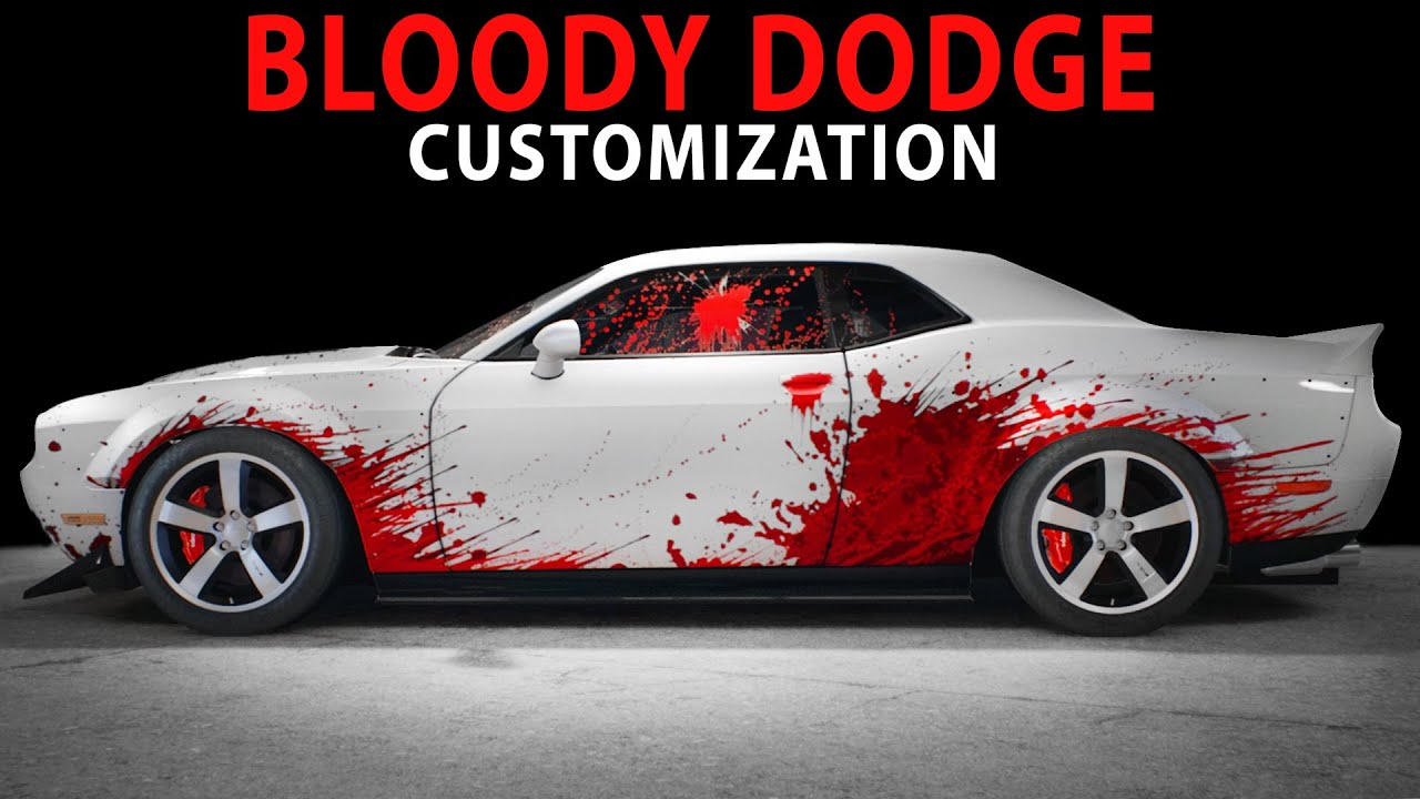 Nfs 2015 Bloody Dodge Cinematic Speed Art