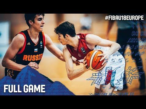 Turkey v Russia - Full Game - FIBA U18 European Championship 2017