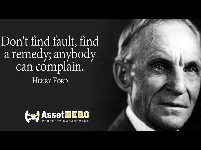 Henry Ford Model   Asset Hero Property Management