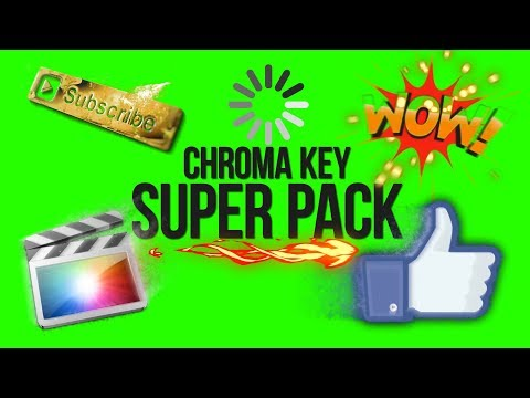 Chroma Key Super Pack - Green Screen Animation thumbnail