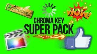 Chroma Key Super Pack Green Screen Animation