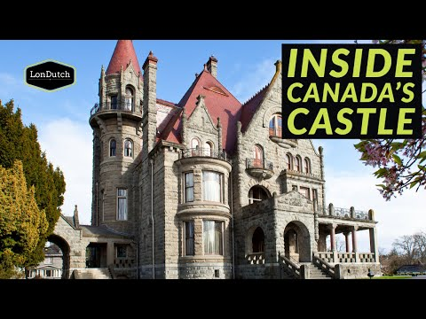 Is It Haunted ??? |  Canada's Best Castle  |   The Most Historic Castle In Victoria