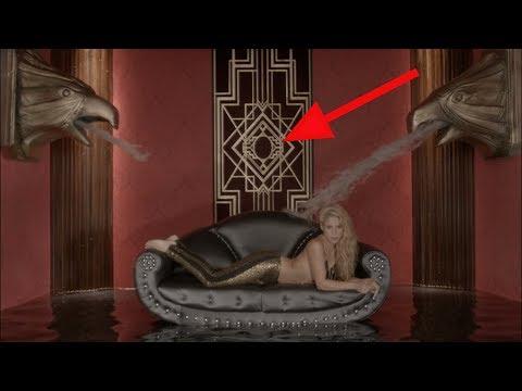 Shakira le da la bienvenida a Maluma al mundo Illuminati en su vídeo Chantaje