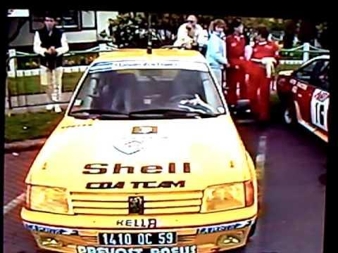 Rallyes 1987 FR3 Nord-Pas de Calais-Picardie
