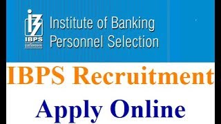 IBPS RRB Office Assistant, Officer Scale I,II,III Online Form 2018