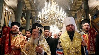 Ukraine's Orthodox church granted independence by Ecumenical Patriarch