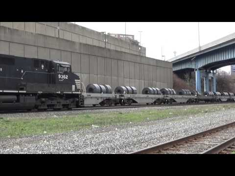 Railfanning at Cleveland Amtrak with NS 8098